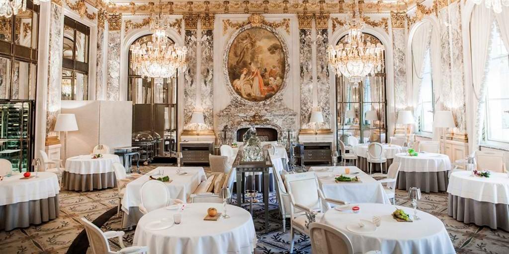 Restaurant le Meurice Alain Ducasse Salle