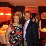 Lidia Bastianich and Fred Bollaci