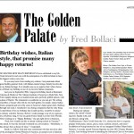 Fred Bollaci's Appetite Column in the Fall Issue of VENU Is Served!