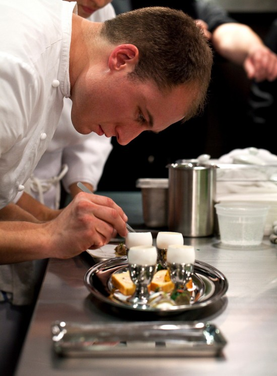 Next inspired molecular gastronomic tasting by the alinea for Alinea chef de cuisine