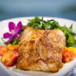 Recipe: Red Snapper with Arugula and Warm Red & Yellow Tomato Salad from Golden Palate® Pattigeorge's on Longboat Key, Florida!