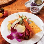 Recipe: Chilled Vegetable Salad with Wild Honey Key Lime Dressing & Eggplant Caviar from Golden Palate Partner® Bleu Provence in Naples!