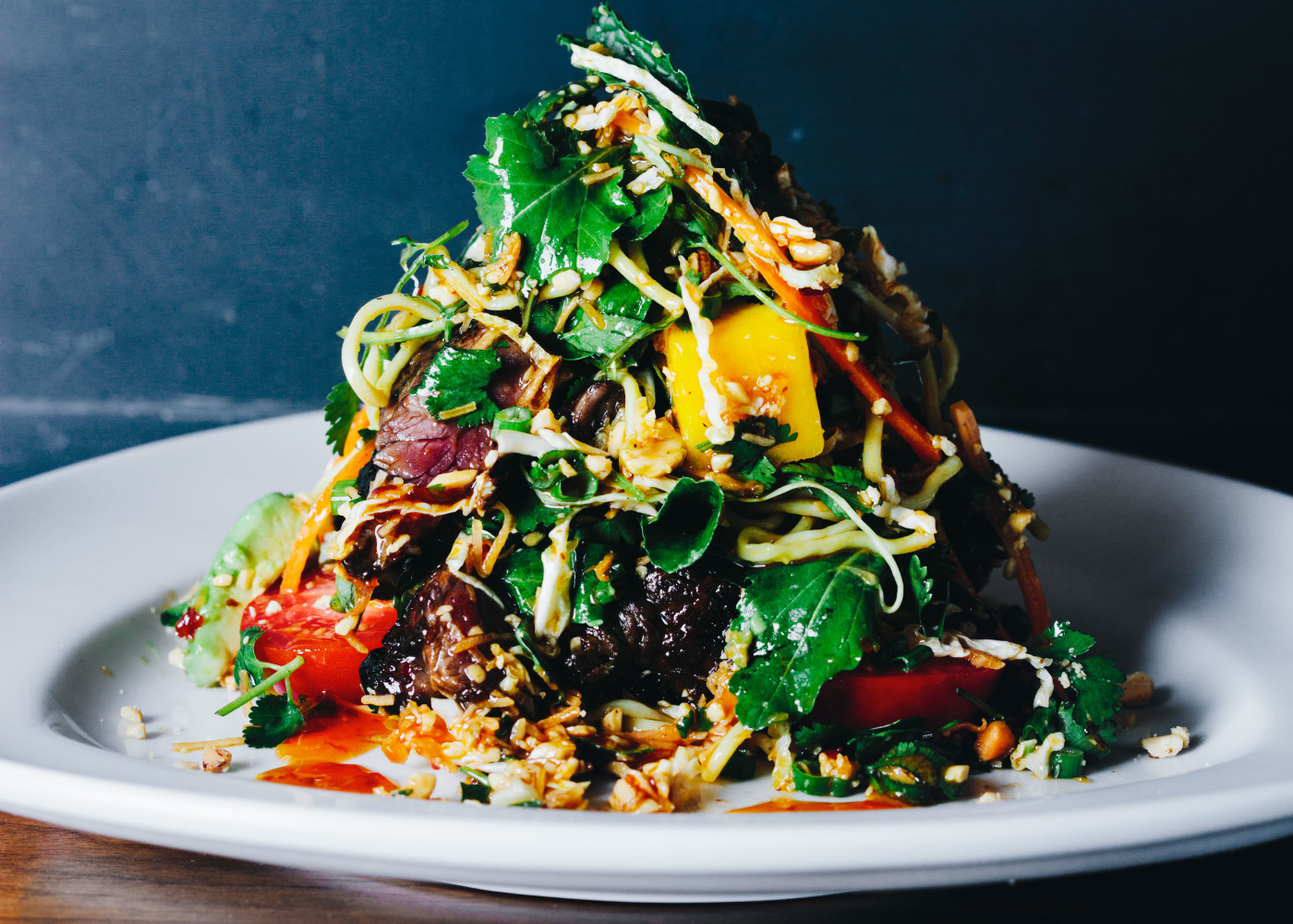 Recipe HillstoneHoustons Thai Steak And Noodle Salad