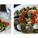 Recipe: Linguine alle Vongole (with Clams and Grape Tomatoes) by Golden Palate® Caffe' Luna Rosa in Delray Beach, FL