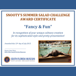"""Recipe: """"Snooty's Summer Salad"""" by Chef Jamil Pineda at Michael's on East (Sarasota, FL)"""