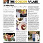 "Fred Bollaci Introduces ""The Italian Trifecta,"" 3 New Platinum Palate Destinations in Florida! Marcello's La Sirena in West Palm Beach, Sale e Pepe at Marco Beach Ocean Resort in Marco Island, and Le Sirenuse Miami at The Four Seasons Surfside at The Surf Club in Miami Beach in Fall 2017 Venu Magazine!"