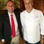 Fred Bollaci and chef Eric Ripert