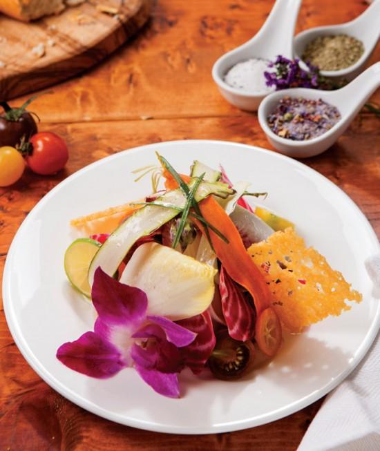 Bleu-Provence---vegetable-and-flower-salad
