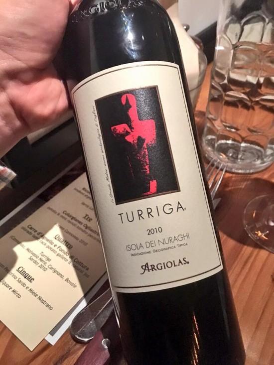 Turriga from Argiolas Winery