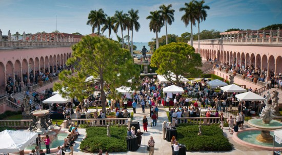 Forks and Corks Sarasota 2016 at the Ringling Museum