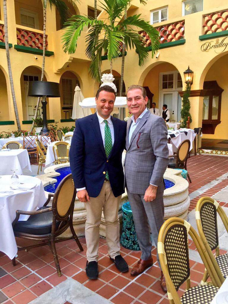 Fred Bollaci at Trevini Ristorante
