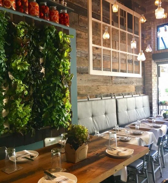 The Living Vertical Lettuce Wall! Boca Is Known For Delicious Salads With  Fresh Locally Grown Produce, A Lot Comes Straight From Their Very Own Walls!