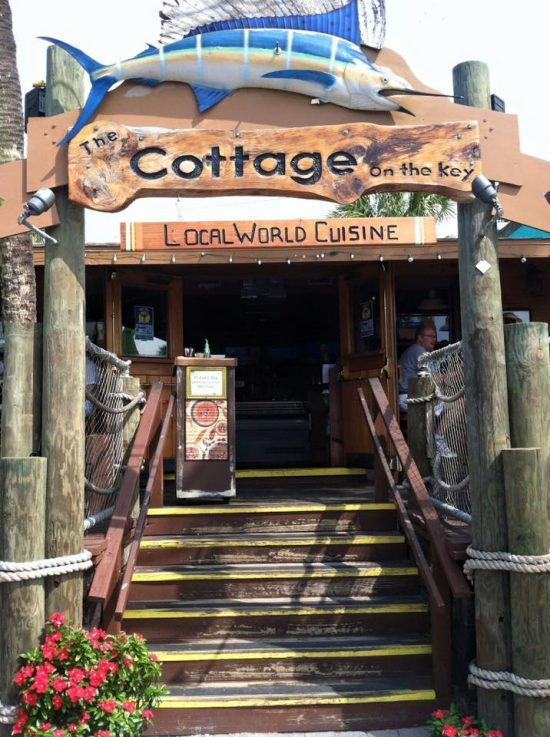 The Cottage In Siesta Village On Key Is A Farm To Fusion Restaurant Tropical Setting That Offers Culinary And Crafted Libations Inspired From