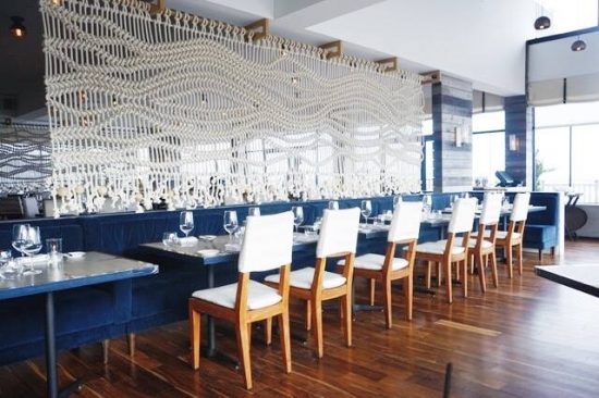 Enjoy Outstanding Contemporary Italian Dining Overlooking The Ocean At Scarpetta Beach It S Downtown Manhattan And South Meets Montauk
