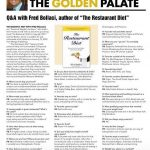 "Q&A with Fred Bollaci, Author of ""The Restaurant Diet"" on Shelves January 15, 2018 in Winter 2017-18 Venu Magazine"