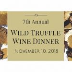 Save the Date! Florida Winefest's Annual Wild Truffle Dinner in Sarasota, FL Presented by Chefs Chris Covelli & Paul Mattison! Saturday November 10, 2018, 6:30-10pm at Mattison's 41. Proceeds Benefit Disadvantaged Children in the Community