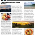 "Fred Bollaci Authors ""Best of Bar Harbor and Mid Coast Maine"" Feature in Summer 2018 Venu Magazine"