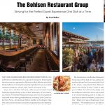 "Fred Bollaci Writes ""Fearless Chef"" Feature on Renowned Bohlsen Restaurant Group of Long Island (Teller's, Verace, H20, Monsoon, Harbor Club, Pizza Parm, Prime Huntington, NY and Stamford, CT)"