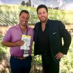 """Fred Bollaci Attends Paradise Coast Food & Wine Festival in Naples, FL, Presents Chef Scott Conant with a Signed Copy of """"The Restaurant Diet,"""" Signs Books at Bleu Provence and The French Brasserie Rustique"""