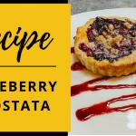 Recipe: Blueberry Crostata by Michael's on East, Sarasota, Florida